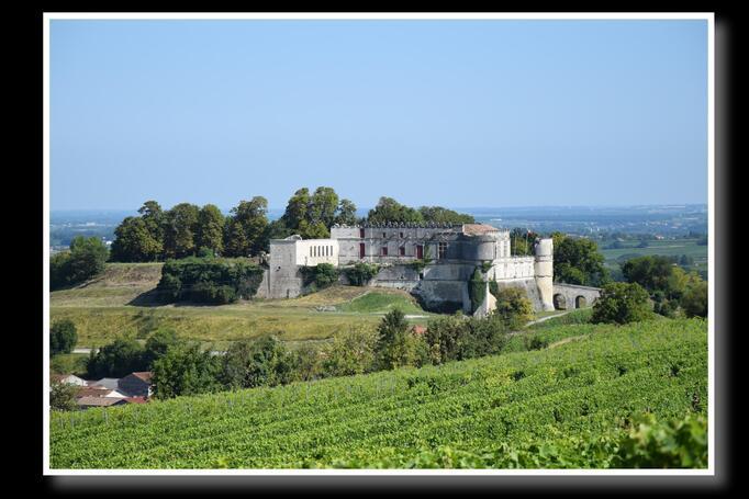 Rénovation du château Bouteville  Août 2019