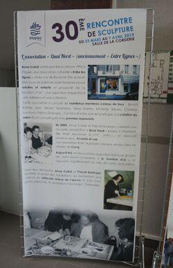 Petite rétrospective de l'exposition à Etaples