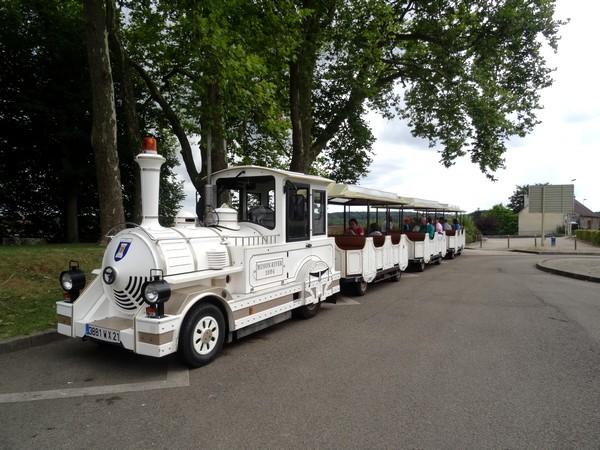 Visite de Semur en Auxois en petit train...