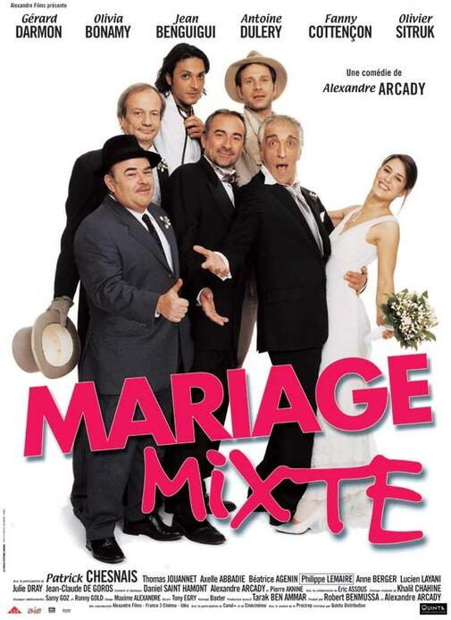 MARIAGE MIXTE BOX OFFICE FRANCE 2004