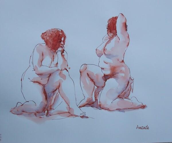Jeudi - Deux poses