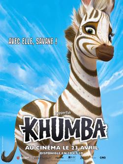 KHUMBA, le nouveau film d'animation des studios Triggerfish, au cinéma le 23 avril 2013 : découvrez l'affiche, les affiches personnage et la bande-annonce !