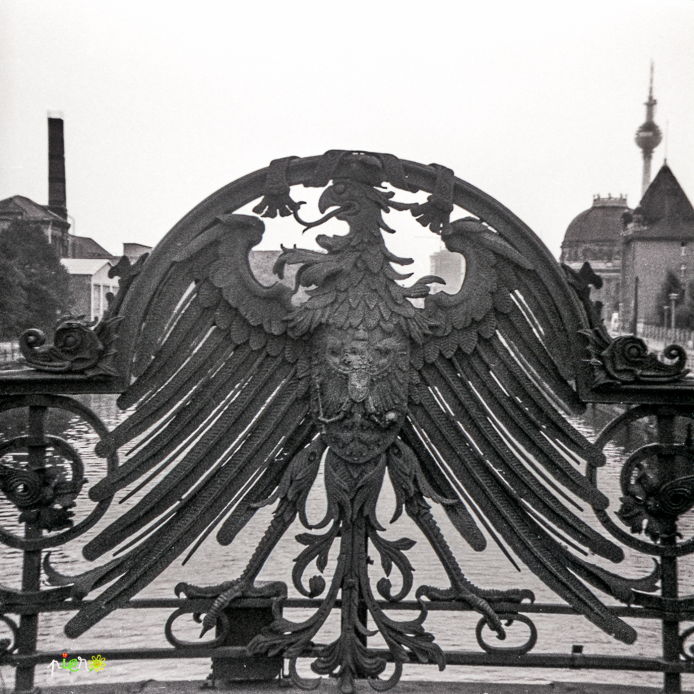 Berlin Est, août 1968.