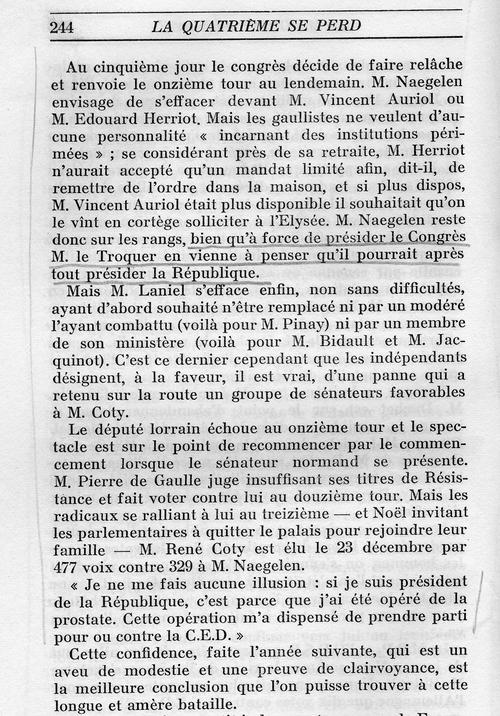 Cours d'histoire à l'usage des Macron, Hollande, et autres députés ou ministres