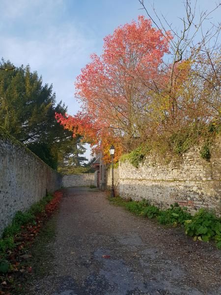 Dans les ruelles de Saint-Valery