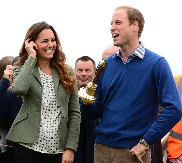 Kate et William à Anglesey