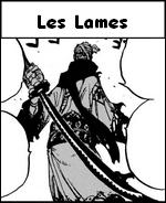Les lames ou sabres