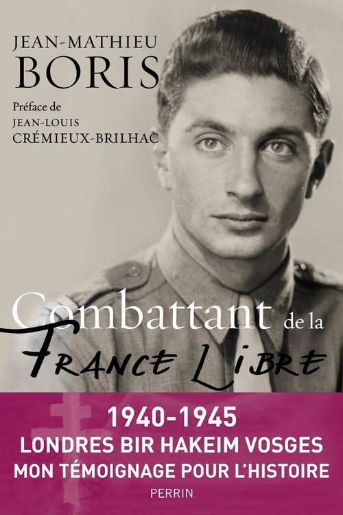 * Disparition de Jean-Mathieu BORIS, FFL, Ancien de Bir Hakeim (1er RA de la 1ère DFL) et du 1er Commando de France