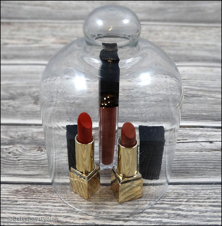 Le vanity Estée Lauder Focus sur les lèvres