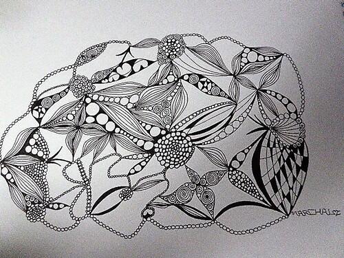 Les dessins au stylo
