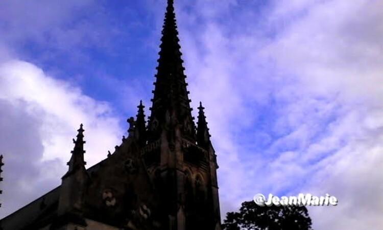L'église Saint-Vincent de Podensac(Gironde)un magnifique èdifice