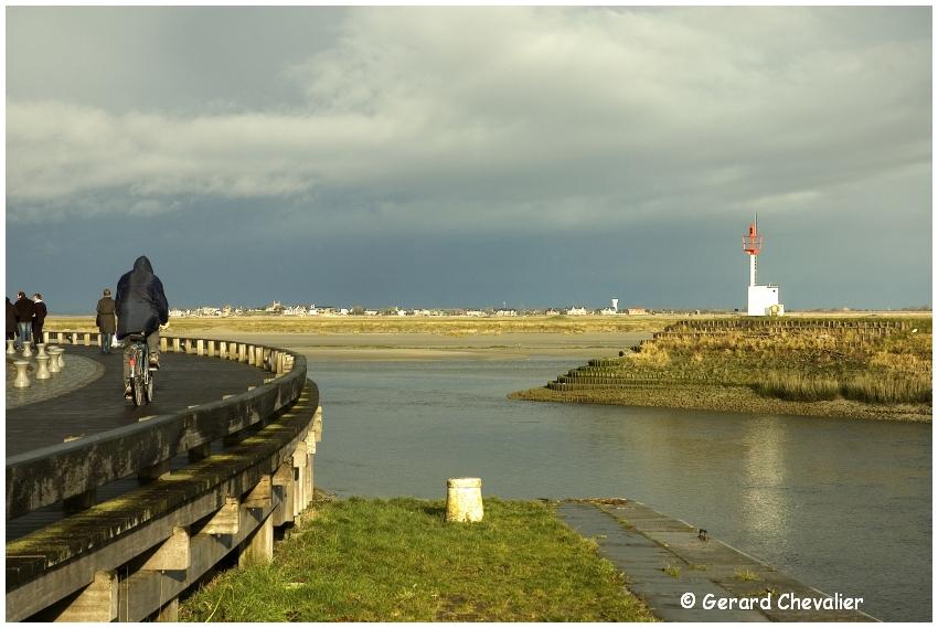 Saint Valery sur Somme - Sortie du port