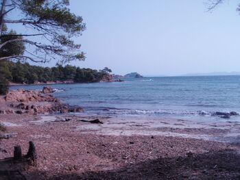 Les îlots de l'Estagnol et Brégançon