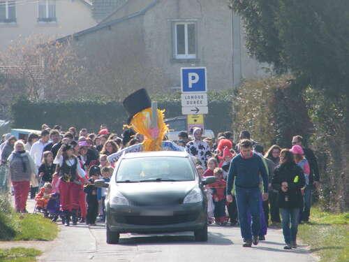 Carnaval des enfants - rue du Tramway
