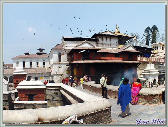 Blog de images-du-pays-des-ours : Images du Pays des Ours (et d'ailleurs ...), Temple de Pashupatinath: regroupement des restes et rinçage des écoulements - Katmandou - Népal
