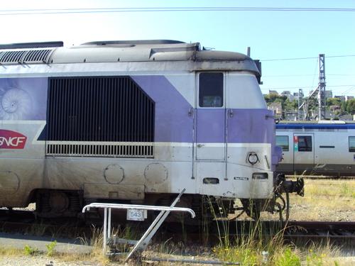 """La BB 667443 """"en voyage"""""""