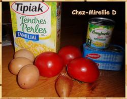 Salade Fraicheur aux Tendres Perles