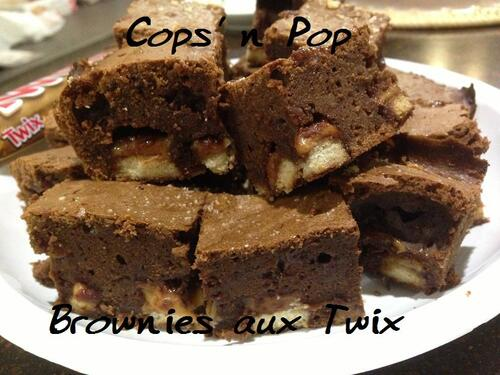 Brownies aux Twix