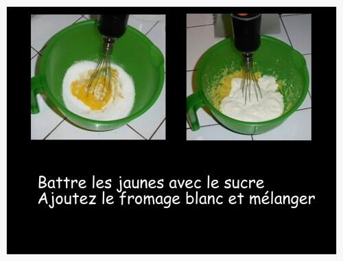 MOUSSE DE FROMAGE BLANC