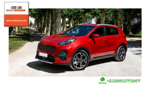 Location de voiture SUV à Casablanca – Location Kia Sportage 2019 avec boite automatique
