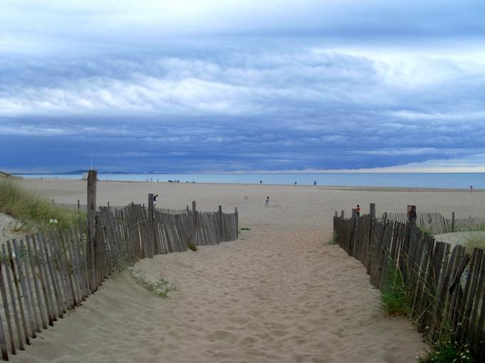 Chemin vers la mer (paysage)
