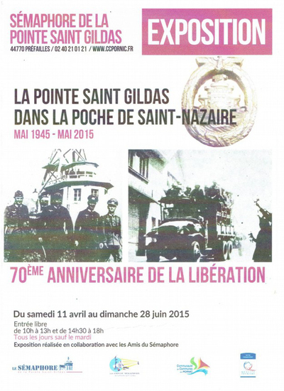 """La Pointe Saint Gildas dans la """"poche de Saint-Nazaire"""""""