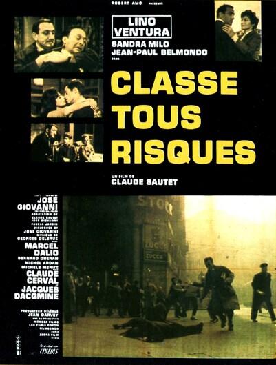 CLASSE TOUS RISQUES - BOX OFFICE JEAN PAUL BELMONDO 1960