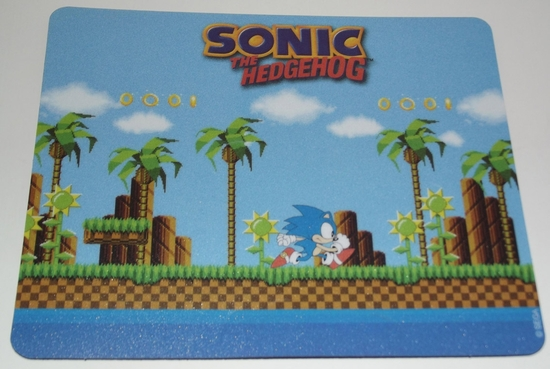 goodies tapis de souris sonic