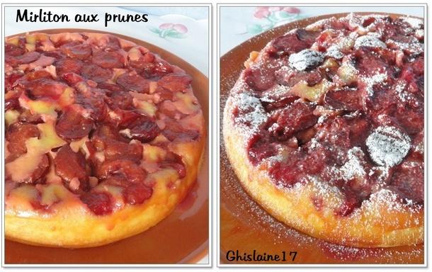 Mirliton aux prunes