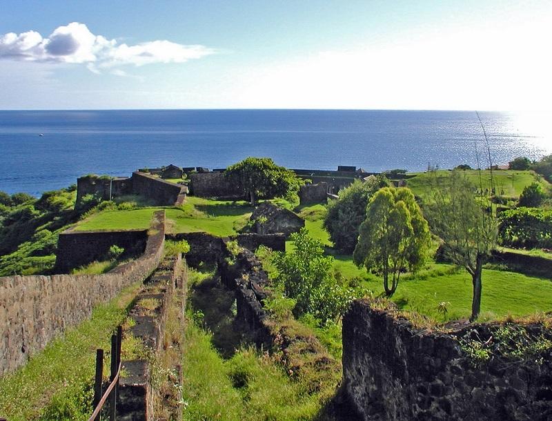Fort Louis Delgrès ˆà Basse-Terre, en Guadeloupe