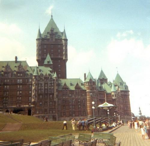 Québec 1967 : Le château Frontenac