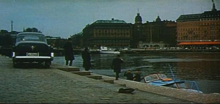ROGER VADIM - JEAN LOUIS TRINTIGNANT - CHATEAU EN SUEDE - 1963
