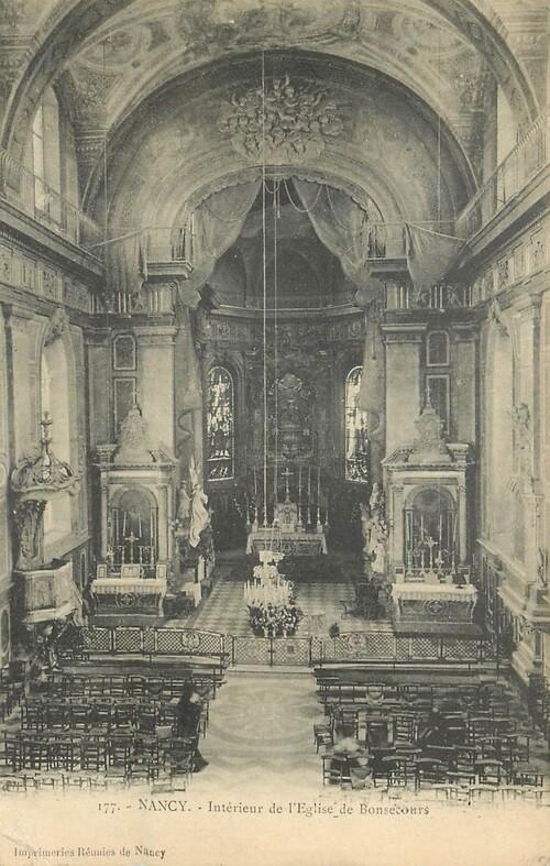 Nancy : église Notre-dame de Bonsecours