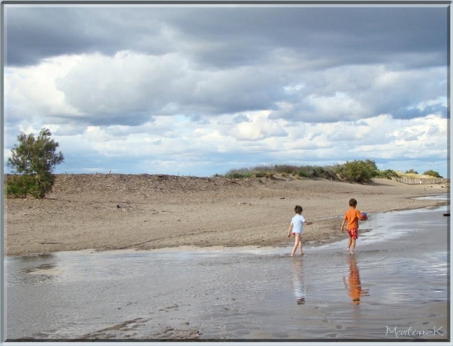 Quand vient la fin de l'été... sur la plage...