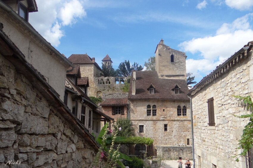 Saint cirq- Lapopie ,Lot,