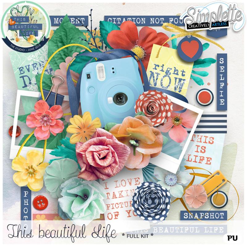 10 juin :  This beautiful Life Simpl351