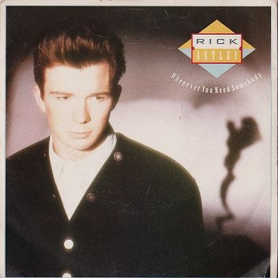 Rick Astley - Whenever You Need Somebody - 1987