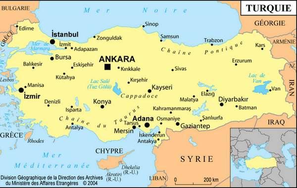 Patrimoine mondial de l'Unesco : Nemrut Dag - Turquie -