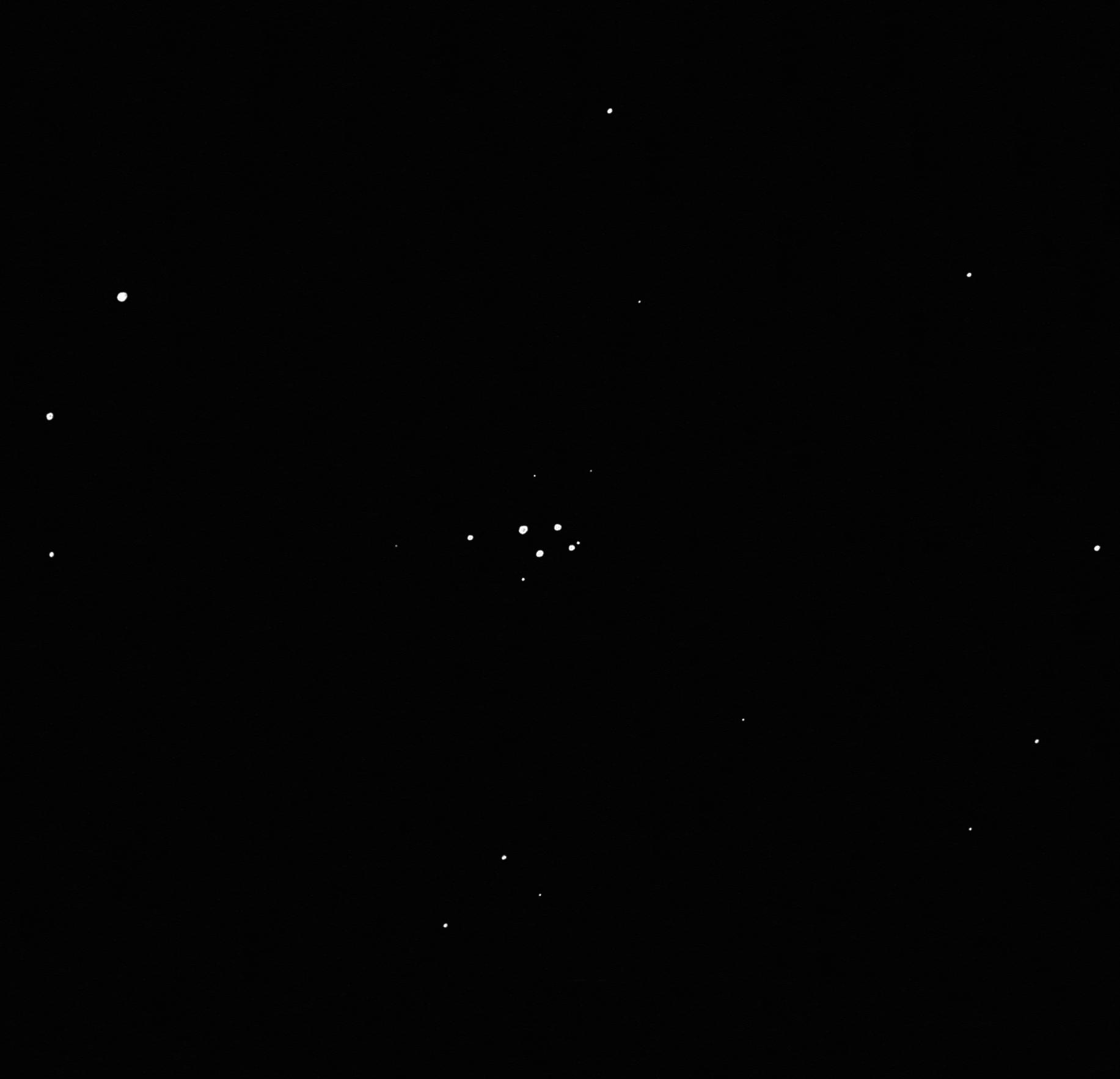 Ferrero 1 open cluster