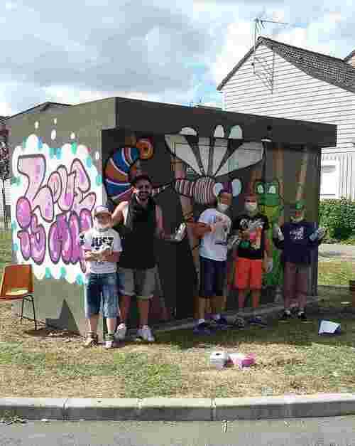 Artiste peintre pour les vacances 2015