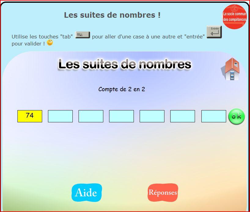Exercices mots de la tags exercices mots de la m me - Logiciel educatif tables de multiplication ...