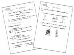 Cahier outils - étude de la langue
