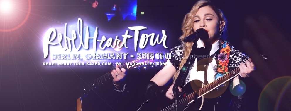 Madonna Rebel Heart Tour Berlin 2