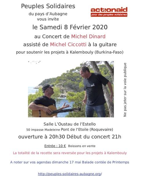 Concert pour Kalembouly