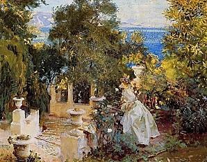 Sargent-A-Garden-in-Corfu-
