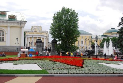 Autour du Kremlin à Moscou (photos)