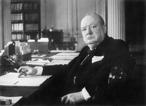 winston churchill prémonition