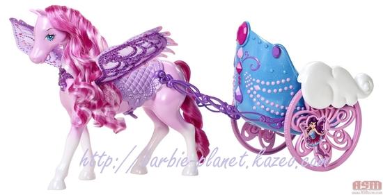 Calèche Barbie Mariposa & The Fairy Princess