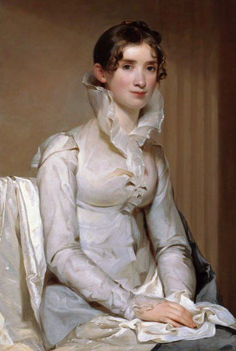 Mrs. Klapp 1814 by American Thomas Sully (1783 - 1872)