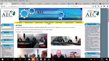 Le blogue de l'AEC